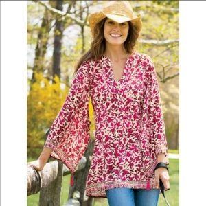 Soft Surroundings Avignon Kimono Sleeve Tunic